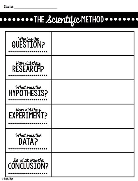The AmazingClassroom Blog {FREEBIE} Scientific Method Steps - scientific method worksheet