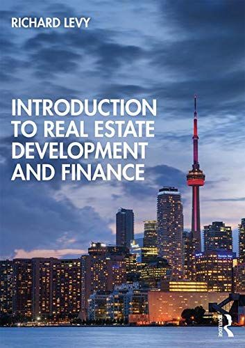Epub Free Introduction To Real Estate Development And Finance Pdf