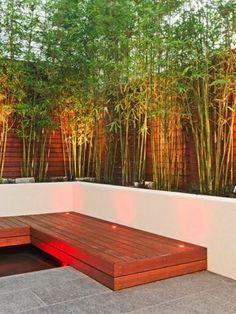 Amenagement Balcon Masquer Le Vis A Vis En Mettant Des Bambous