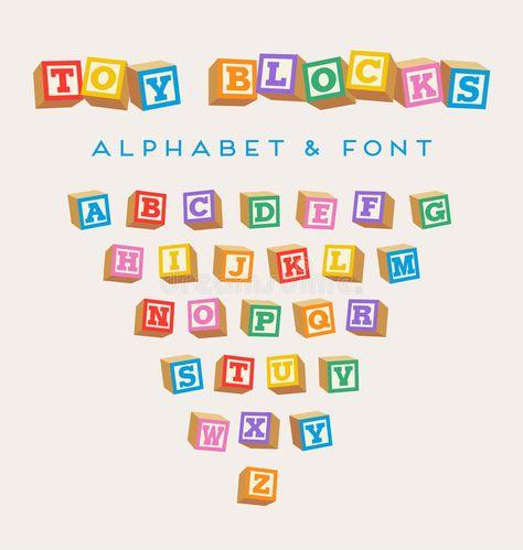 3d Alphabet Blocks Toy Baby Blocks Font In Bright Colors Spon Toy Blocks Alphabet Baby Colors Ad Alphabet Blocks Lettering Alphabet 3d Alphabet