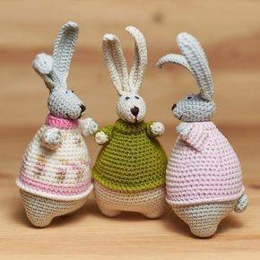 Dutch Rabbit Crochet Amigurumi Free Pattern | Crochet Cats | 290x290