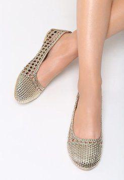 Srebrne Balerinki Only 2 Loves W Born2be Pl Shoes Espadrilles Fashion