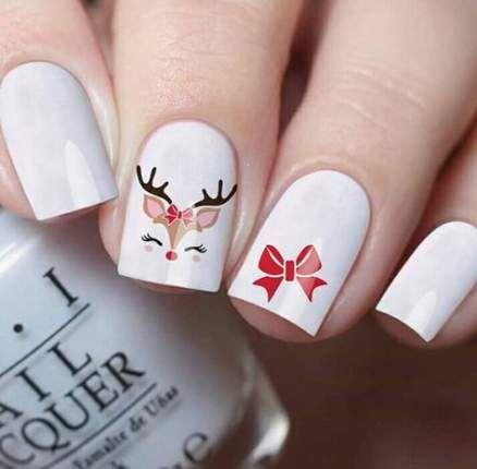 64 New Ideas Nails Design Christmas Cute Winter Nail Designs Cute Christmas Nails Xmas Nails