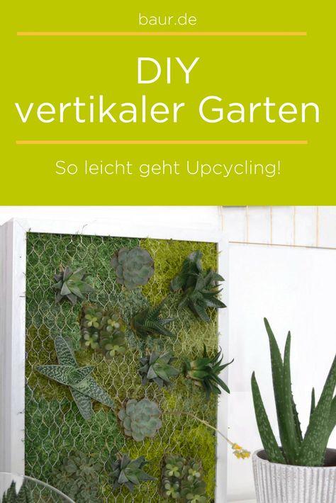 Vertikaler Garten Selbst Gemacht Freiraum Pinterest