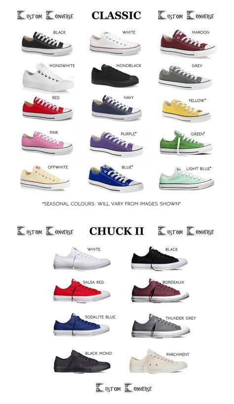 Custom Converse » Kids Personalised Low Tops
