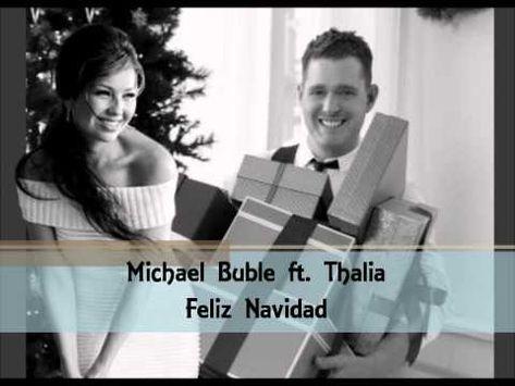 Feliz Navidad Il Divo.Michael Buble Thalia Feliz Navidad Christmas Music
