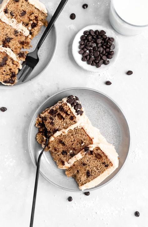 Damn Good Peanut Butter Banana Cake (grain free!) | Ambitious Kitchen