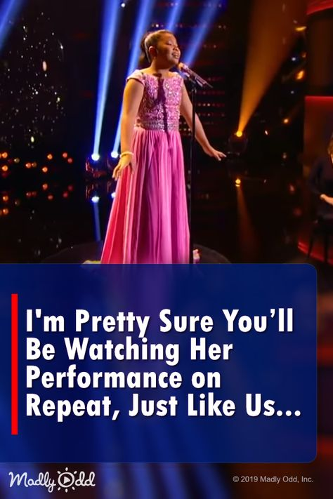 I'm Pretty Sure You'll Be Watching Her Beautiful Performance on Repeat, Just Like Us…