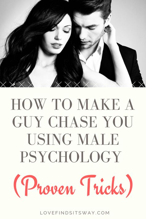Learning how to make him chase you as like creating a situation where he should think of you being the prize that he wants to hunt down, strategized over, chased, and eventually WON. Remember A man wants to earn you, chase you, love you and make love to you. Read here how to make him want you and chase you. #relationshipadvice #love #relationship #dating #attractmen #magnetizemen