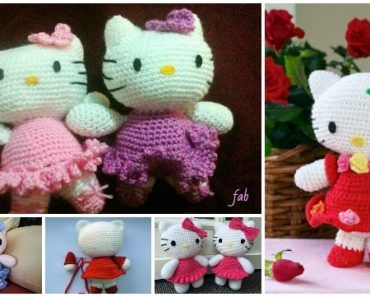 Crochet Hello Kitty Amigurumi Free Patterns Toy Plush for