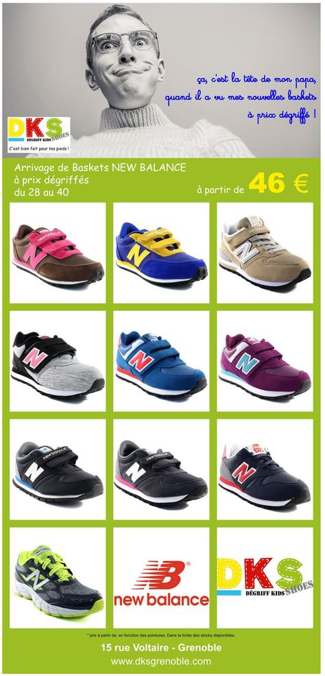 new balance enfants 28