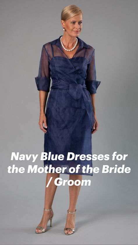 Navy Blue Dresses for the Mother of the Bride / Groom