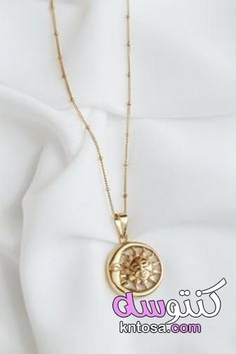 سلاسل ذهب مودرن ناعمة Gold Gold Necklace Jewelry