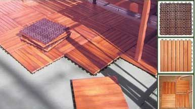 Wooden Anti Slip Deck Tile Photo Interlocking Deck Tiles Patio Flooring Deck Tile