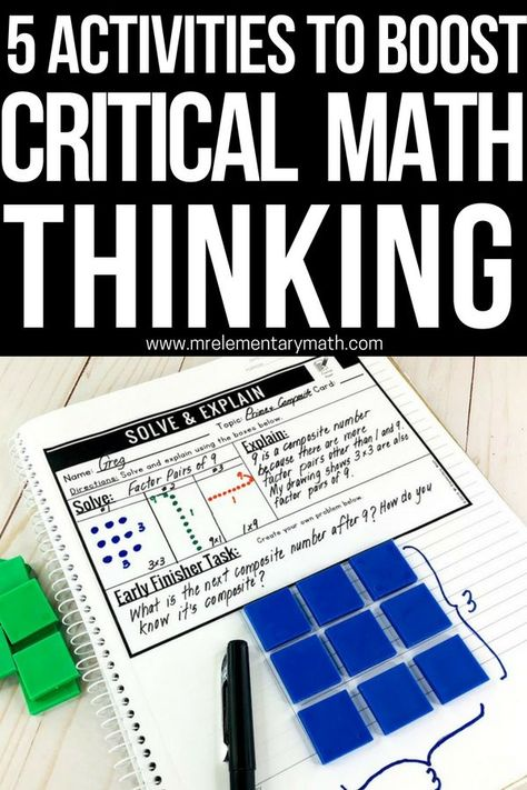 critical thinking math problems high school That's because the foundations of critical thinking are laid in infancy and childhood in summer vacations and in the middle of the school year critical thinking and logical reasoning skills worksheets and exercises that stimulate thought and encourage keener observational and analytical skills can do wonders for kids.