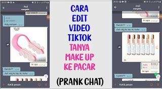 Tutorial Editing Prankchat Tiktok Tanya Alat Makeup Ke Pacar Trik Zoom Gambar Adobe Indesign Photoshop Adobe Photoshop