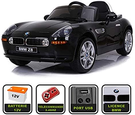 Blanc cristom Voiture de Sport /électrique 12V pour Enfant BMW Z8