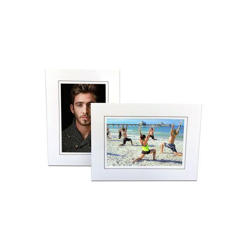Bottom Loading Easel White - 4x6 In 2020 Paper Frames, Photo