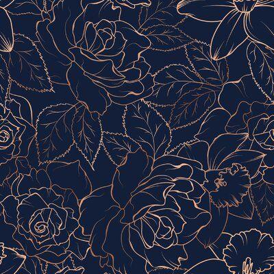 Red Barrel Studio Rose Peony Daffodil Narcissus Blossom 10 L X 24 W Peel And Stick Wallpaper Roll Peel And Stick Wallpaper Floral Oil Paintings Flower Texture