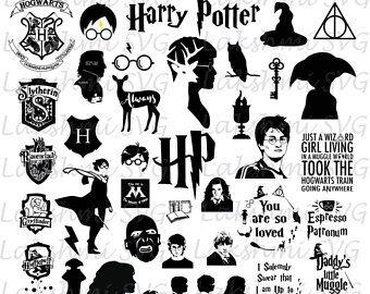 Harry Potter Svg Files Harry Potter Svg You Are So Loved Svg Harry Potter Svg Pack Files Fo Harry Potter Drawings Harry Potter Silhouette Harry Potter Icons