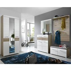 Innostyle Funny Garderobenpaneel 84x29x128cm Weiss Innostyleinnostyle In 2020 Wandgarderobe Design Garderobenspiegel Und Garderobenhaken Modern