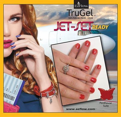 Get 'Jet-Set Ready' with EzFlow TruGel before you head to the 'Penthouse Suite'.