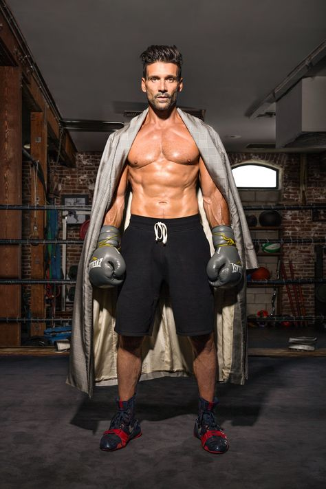 Kingdom's Frank Grillo Shows Off His Insane Physique in Shirtless 'Details' Spread!: Photo Frank Grillo shows off his incredible body while going shirtless in a new fitness feature for Details' current issue. The actor, who stars on the…