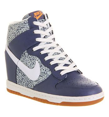 Nike Dunk Sky Hi Liberty Denim