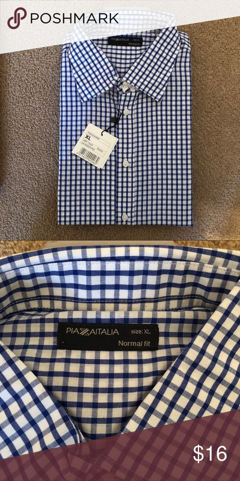 🔥men's Italian dress shirt Size XL Brand new Shirts Dress Shirts
