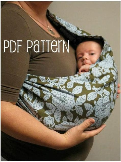 You have to see 30 Minute Baby Sling on Craftsy! - Looking for sewing project inspiration? Check out 30 Minute Baby Sling by member Berry Birdy. Baby Shoes Pattern, Shoe Pattern, Baby Patterns, Sewing Patterns, Baby Sling Pattern, Knitting Patterns, Crochet Patterns, Vest Pattern, Crochet Stitches