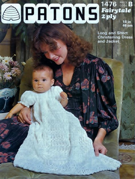Vintage PDF Baby Knitting Patterns Patons 1476 3ply by vintagescot, $2.00