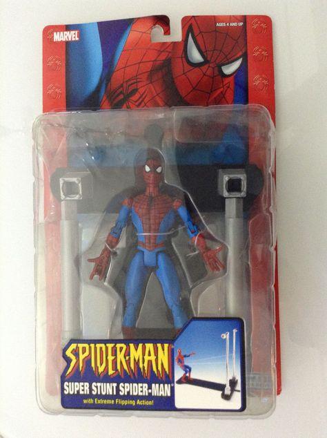 "Spider-Man Talking Room Guard Figure 10/"" Thinkway Toys Marvel 2007"
