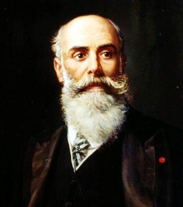 Juan Fernández Latorre 1849 1912 Fundador De La Voz De Galicia E Impulsor De La Construcción Del Pabellón Quirúrgico Que L Inauguración Fotografia Quirurgico