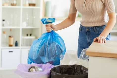 Use clear garbage bags. Here's why. READ MORE...