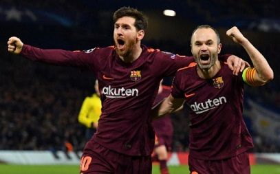 Jogo Barcelona X Chelsea Ao Vivo Online 14 03 2018 Messi Lionel