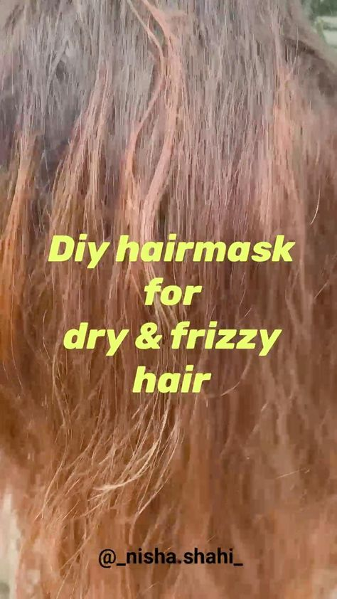 Monsoon Hair mask for dry and frizzy hair