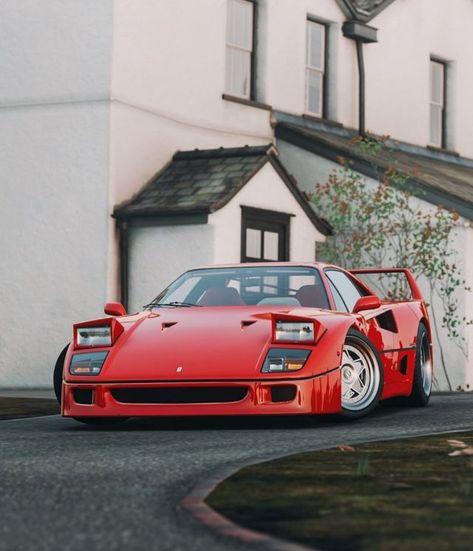 640 Ferrari F40 Ideas In 2021 Ferrari F40 Ferrari Super Cars