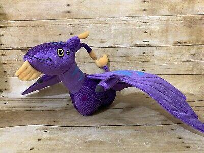 Disney Parks Dragon Plush Pandora The World Of Avatar Purple Banshee Ebay In 2020 Disney Parks Avatar Disney Plush