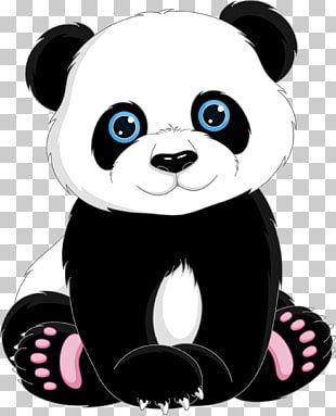 Ilustracion De Panda Tia De Panda Gigante Lindo Panda De Dibujos Animados Png Clipart Cartoon Panda Cute Panda Cartoon Panda Illustration