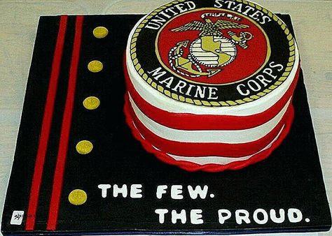 Pleasant Marine Corps Birthday Cake Ideas Cakes Beautiful Inspirational Personalised Birthday Cards Akebfashionlily Jamesorg