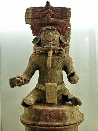 Honduras Copan Ruinas D from Copan Mayan sculpture
