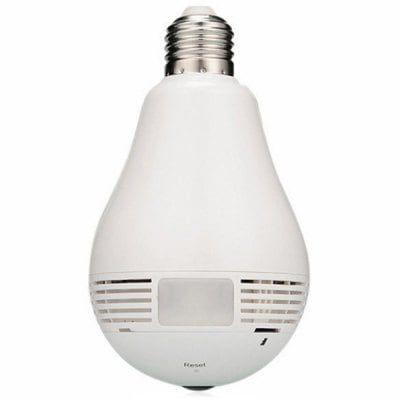 V380s Bulb Camera Wifi Wireless Smart Phone Remote Control 360