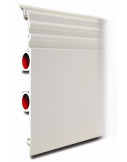 Heated Skirting Board - instead of radiators in every room, run the heated pipes all around the perimeter.