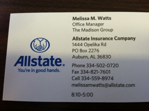Allstate Insurance Quote Inspiration Allstate Insurance Cocall Me For A Quote 3345020720  Allstate