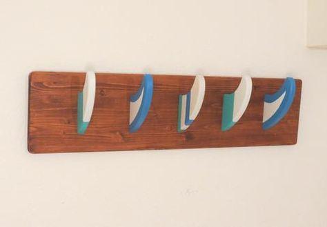Seawilde Surfboard Deko Surf Finnen Garderobe Surf Mobel Surf Room
