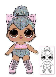 Lol Surprise Doll Coloring Pages Page 8 Color Your Favorite Lol Surprise Doll Lol Dolls Lol Dolls