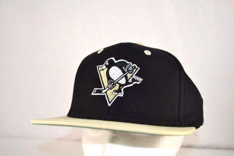 best value new york ever popular Pittsburgh Penguins Black/Tan NHL Baseball Cap Snapback #Reebok ...