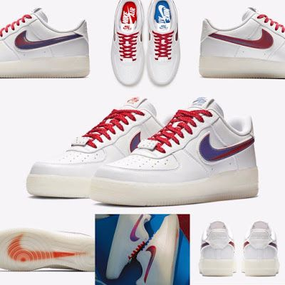 """Nike Air Force 1 Low CT16 QS """"Rude Awakening"""" WhiteBlue Jay For Sale"""