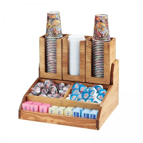 Madera Condiment Station, 3-section, 15-1/4