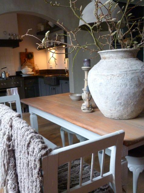 Keuken Landelijk Stoer : landelijk stoer more keuken landelijk modern living inside landelijk